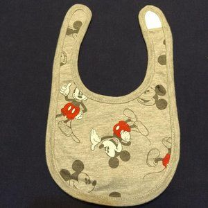 Mickey bib, NEW without tags
